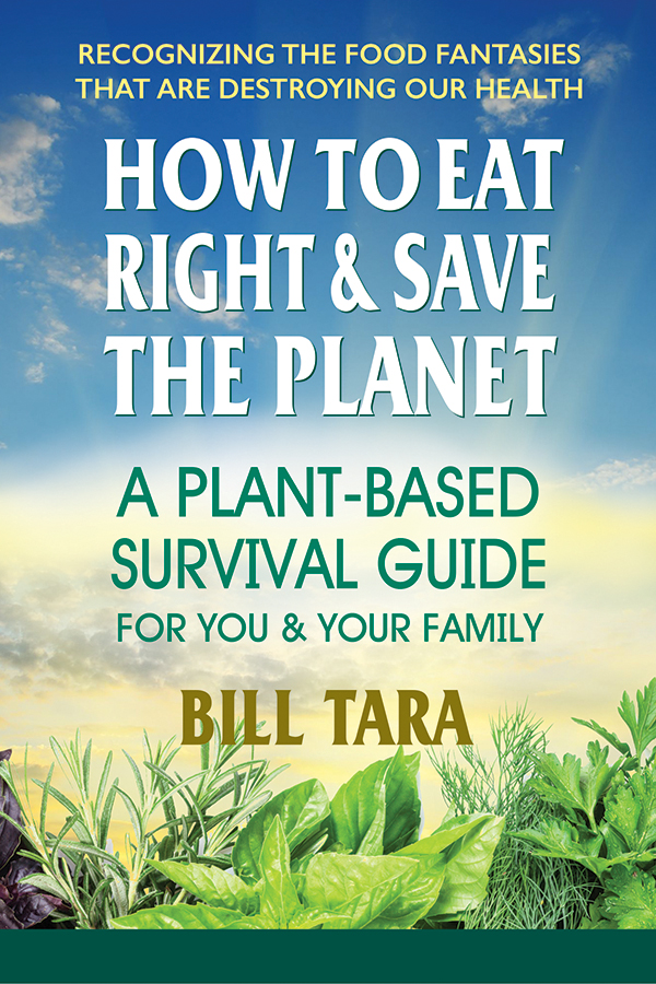 "Give ""Peas"" a Chance: new plant-based diet book in time for Earth Day's 50th this April"