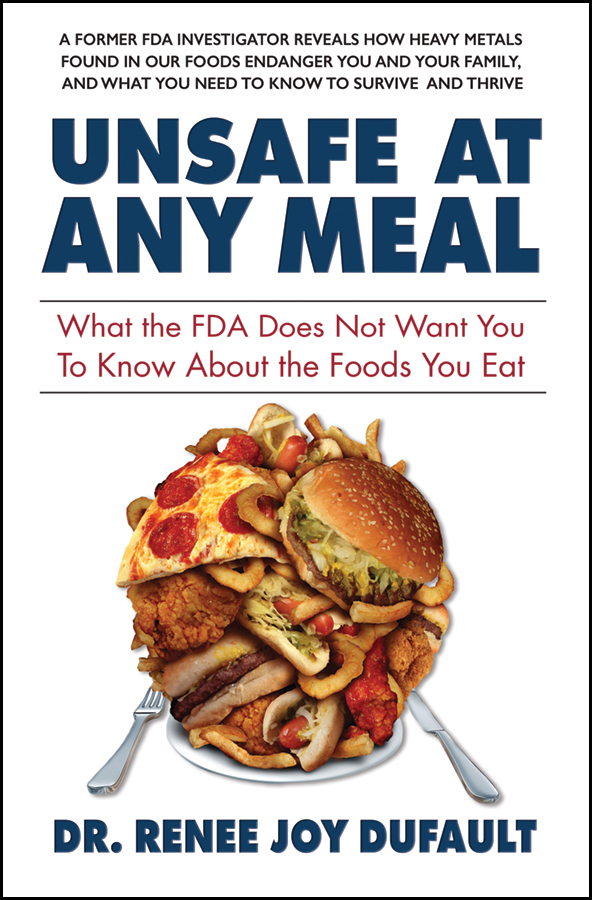 "UNSAFE AT ANY MEAL author Dr. Renee Dufault appears on Dr. Ronald Hoffman's popular ""Intelligent Medicine"" podcast"